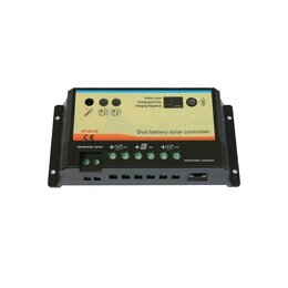 Charge controller EPIPDB-Com 12-24V 10A for 2 separate...