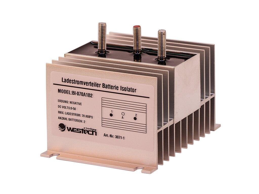 trenndiode ladestromverteiler batterie isolator 70 ampere. Black Bedroom Furniture Sets. Home Design Ideas